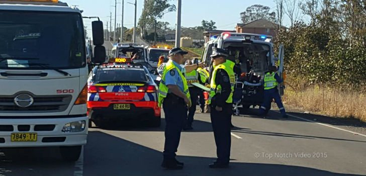 PICTURE: Courtesy NSW Traffic & Highway Patrol Command (Top Notch Video)
