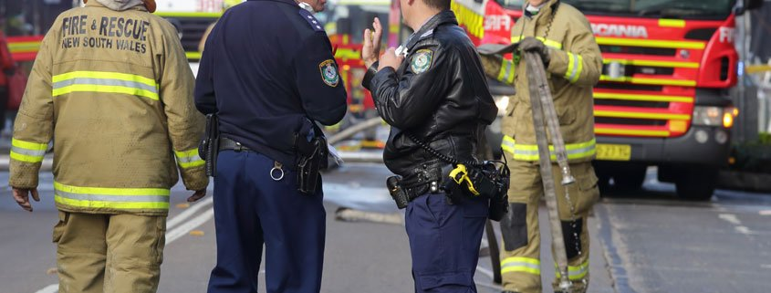 Fire NSW Police Crash
