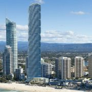 An artist's impression of the new 89-storey Spirit tower approved for Surfers Paradise PHOTO: Supplied