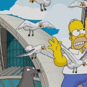 Homer Simpson vs. Sydney Opera House