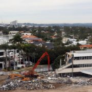 Old Gold Coast City Council building gets demolished