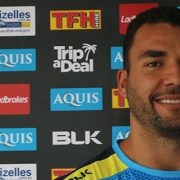 Ryan James from the Gold Coast Titans