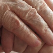 Elderly Man Hands