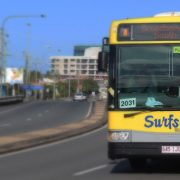Gold Coast bus 700 to Broadbeach South