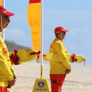 Surf Lifesavers at Main Beach on the Gold Coast