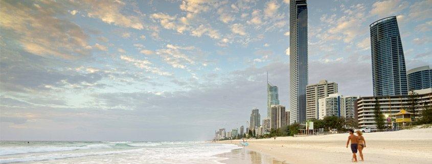 Gold Coast Skyline Surfers Paradise