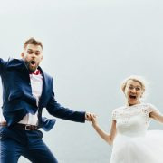 Wedding Jump Joy