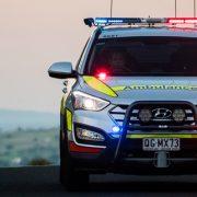 QAS Emergency Response Vehicle responding