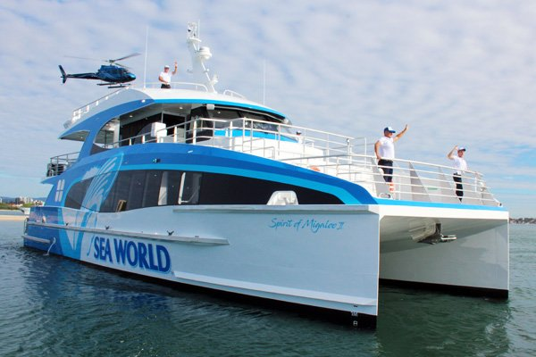 Sea World Spirit of Migaloo II